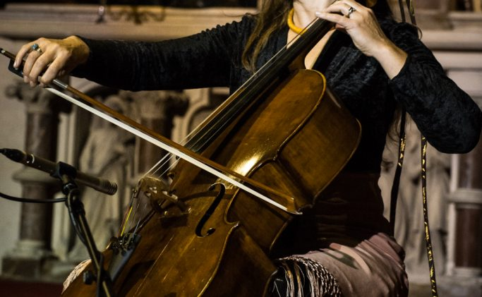 Solo cello performance Arts & Music 27/09 @ Silk Mill Frome, Somerset