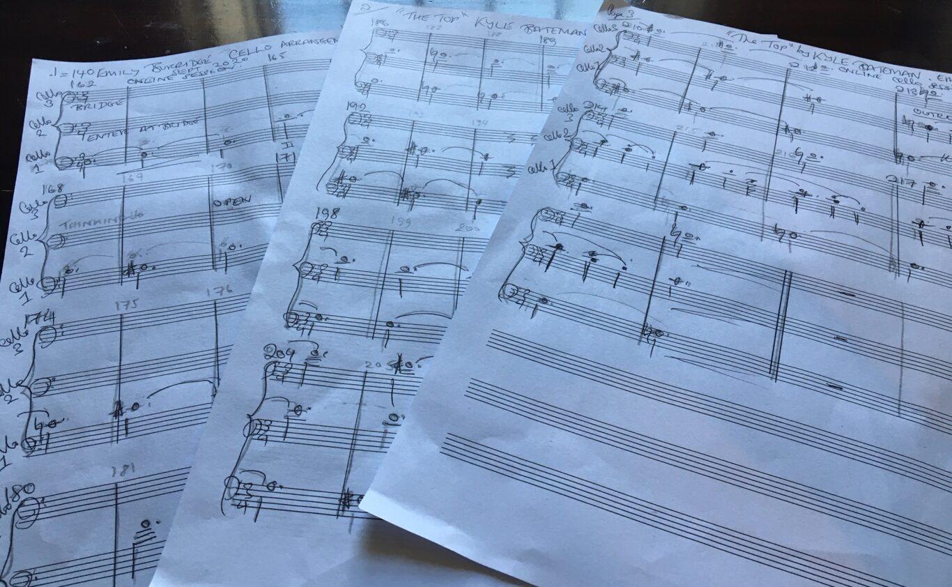 Online cello arrangement & recording September 2020