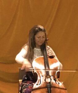 Solo cello private event house concert